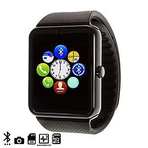 Dam – Smartwatch Gt08 Montre Connectée Bluetooth Noir