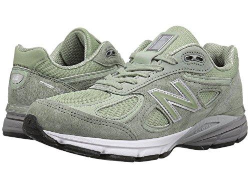 道徳教育常習的供給[new balance(ニューバランス)] レディースランニングシューズ?スニーカー?靴 W990v4 Silver Mint/Silver Mint 7 (24cm) B - Medium