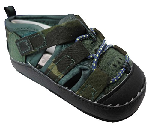 Rising Star Camo Navy Sandals – Infant