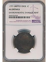 1797 P Large Cent Cent AG Details NGC