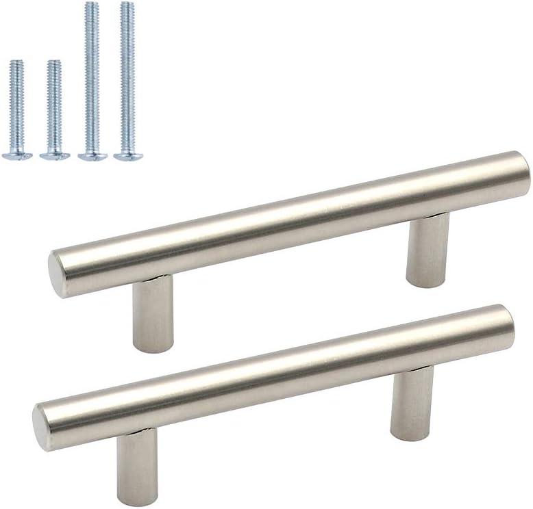 Tirador de puerta de Goldenwarm® de acero inoxidable: Amazon.es: Bricolaje y herramientas