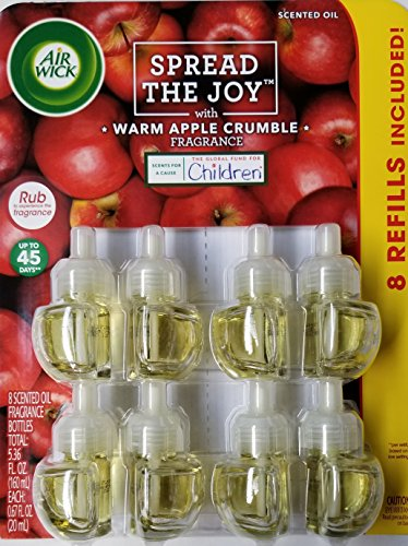 Air Wick Scented Oil Refills - Warm Apple Crumble