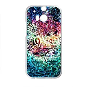 My Love Story Of You Design Hard Case Cover Protector For HTC M8