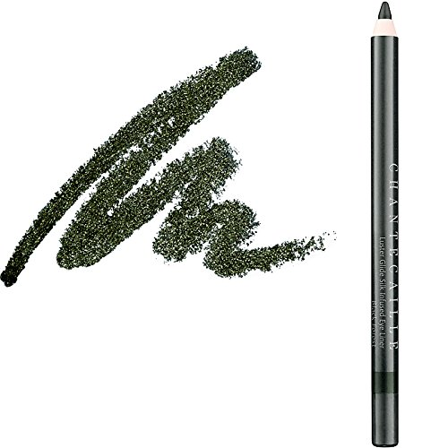 Chantecaille Luster Glide Silk Infused Eye Liner, Black Forest, 0.04 Ounce ()