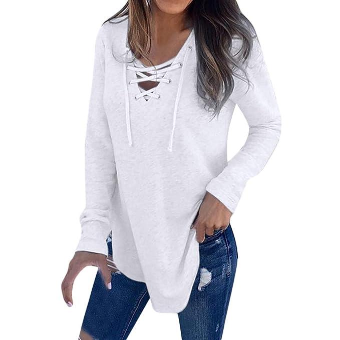 Camisetas Mujer Lentejuelas Sólido Blusa O Cuello Manga Larga Tops t Shirt Moda Navidad y Halloween