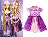 Disney Tangled Rapunzel My Size Fairytale Friend Doll + Matching Dress