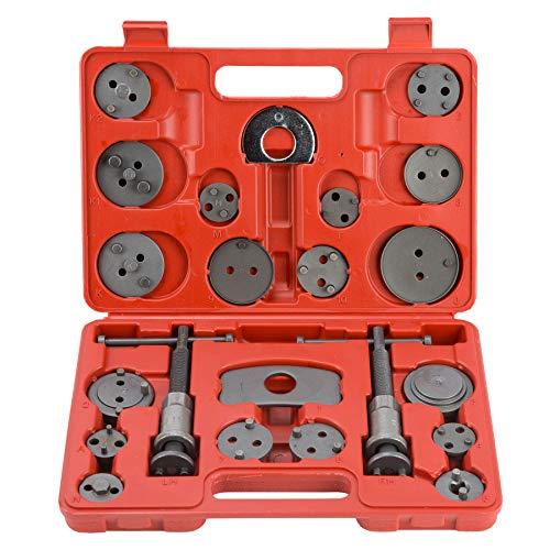 OrionMotorTech Master Disc Brake Piston Caliper Compressor Spreader Tool Set | Brake Pad Replacement Reset Wind Back Kit | Set of 22
