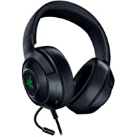 Razer Kraken X USB Digital Surround Sound Gaming Headset, Black, RZ04-02960100-R3M1 (For PC)