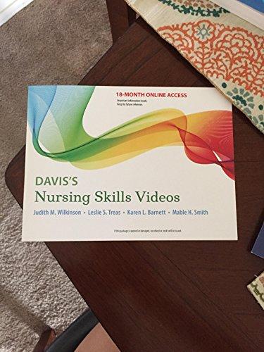 Davis's Nursing Skills Videos