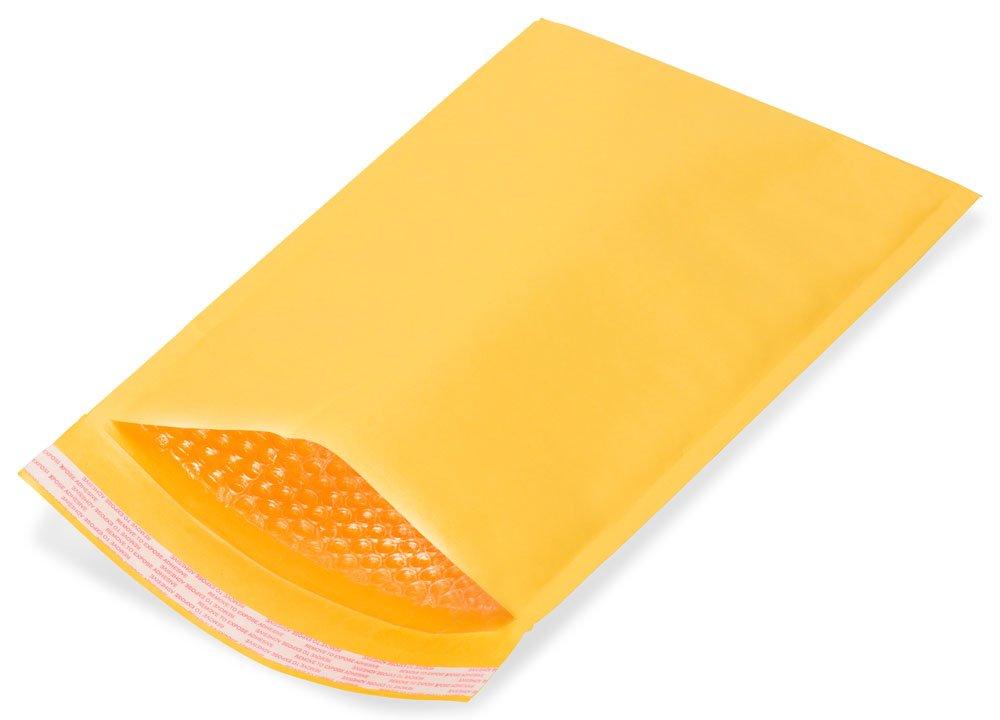 250 Pcs #0 6x10 Kraft Bubble Mailer Padded Shipping Envelopes Bravopack Brand by Bravo Pack