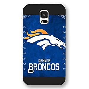 Customized NFL Series For Case Samsung Galaxy Note 2 N7100 Cover , NFL Team Denver Broncos Logo For Case Samsung Galaxy Note 2 N7100 Cover , Only Fit For Case Samsung Galaxy Note 2 N7100 Cover (Black Frosted Shell)