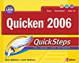 Quicken 2006 Quicksteps, Marty Matthews and Bobbi Sandberg, 0072262664