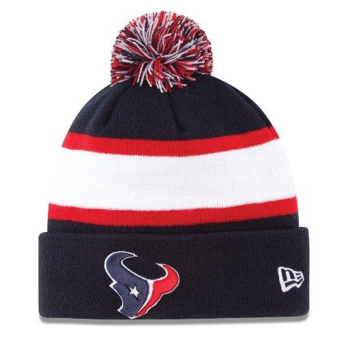 小説家ハイジャック金属Houston Texans New Era 2013 Sideline On Field Sport Knit Hat Chapeau