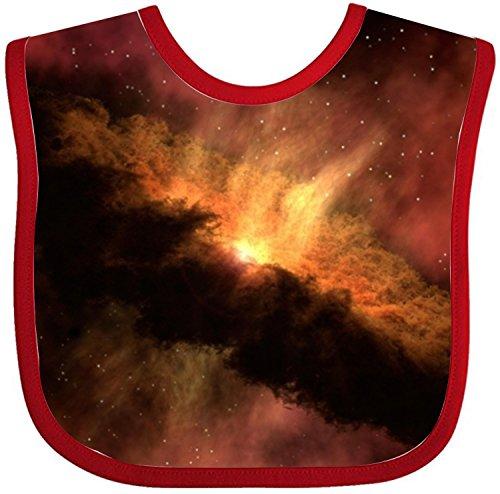 Astronomy Nasa Nebula unisex baby bibs and burps soft absorbent teething bib - Nasa Bib