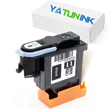 yatunink único 1 Pack (negro) 11 - Cabezal de repuesto para ...
