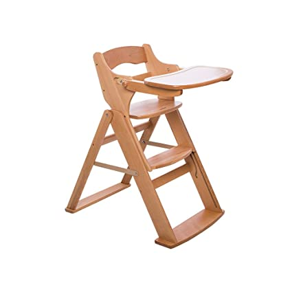 Amazon.com : QIDI Baby Dining Chair Solid Wood ...