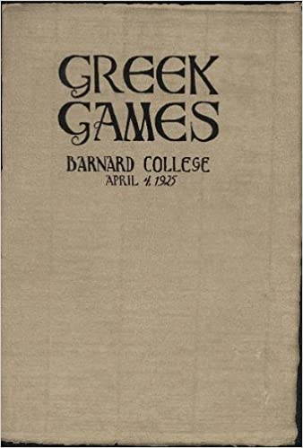Greek Games: Dedicated to the God Pan, a Contest in