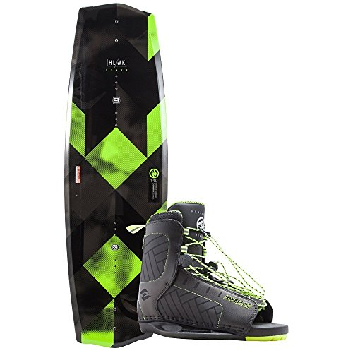 Hyperlite State 2.0 Wakeboard w/Remix Boots (135, 7-10.5 Boot)