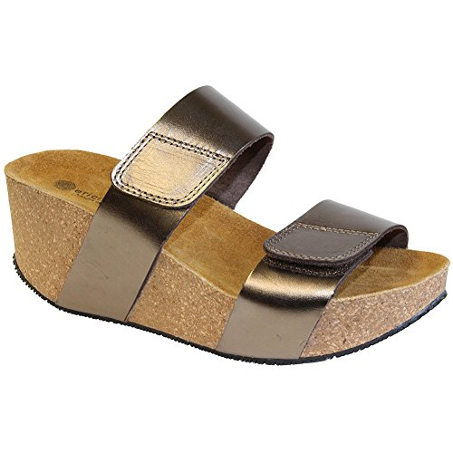 cheap under $60 quality original Lola Sabbia Lily Womens Sandals Bronze wide range of cheap online in China cheap online best store to get for sale 0jG6Q3DZ