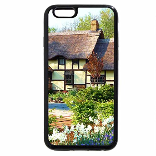 iPhone 6S / iPhone 6 Case (Black) Lovely Cottage