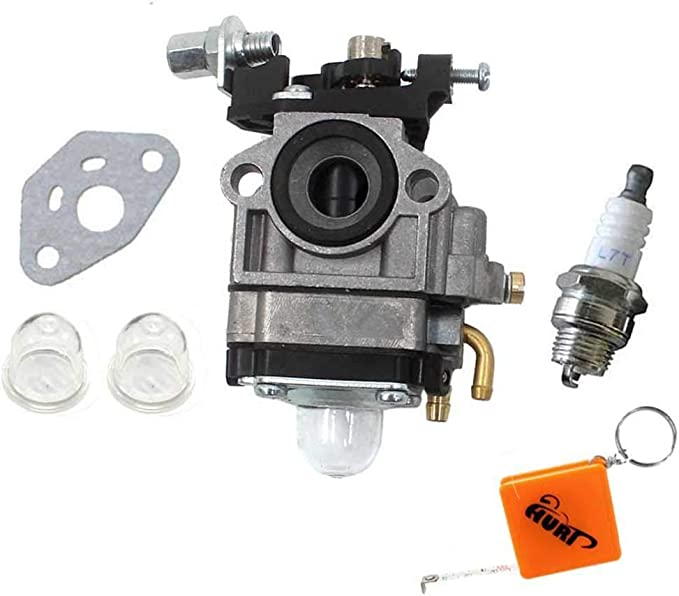 HURI Carburettor for Mac Allister Macallister MBCP254 MGTP254 MCBP254 123054025/1 Carburetor With Gasket Primer Bulb Spark Plug: Amazon.co.uk: Garden & Outdoors