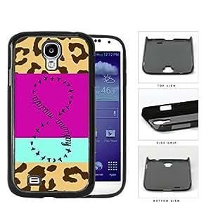 Hakuna Matata Safari Infinity Sign Hard Plastic Snap On Cell Phone Case Samsung Galaxy S4 SIV I9500