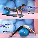Trideer Exercise Ball (45-85cm) Extra Thick Yoga