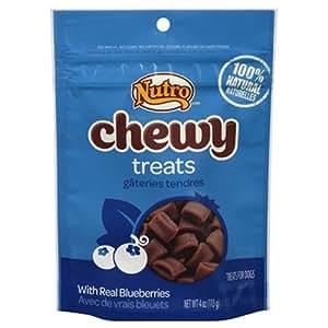 Amazon.com : Nutro Chewy Dog Treats, Blueberry, 4 oz