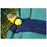 Team Magnus Slip and Slide XXL with Dual Racer Lanes, Water-Spraying Channel and Inflatable Splash Pool (31ft long Water Slide)
