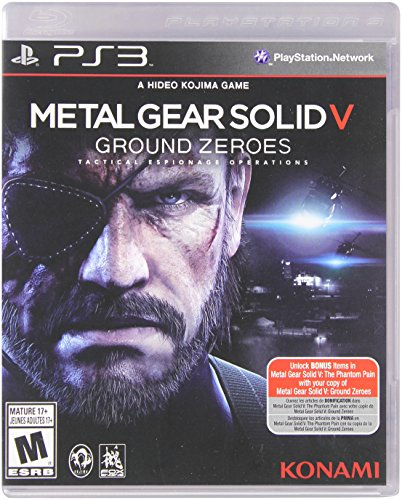 Metal Gear Solid V: Ground Zeroes - PlayStation 3 Standard Edition (Ps3 Metal)