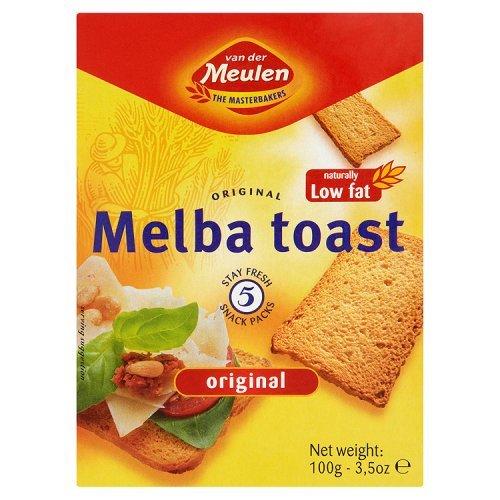 Van der Meulen - Melba Toast - Original - 100g by Van Der Meulen