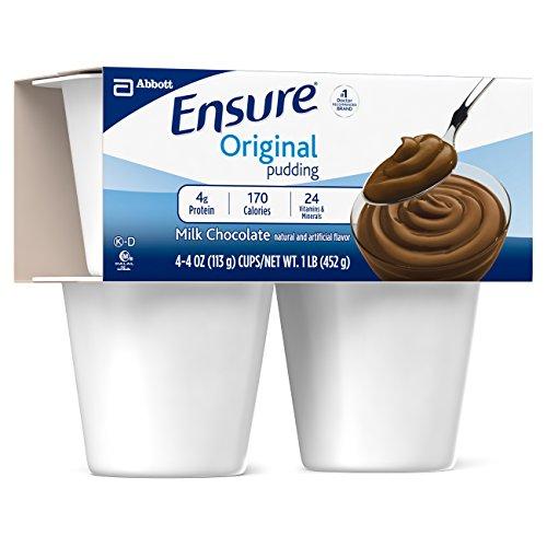 Ensure Pudding, Creamy Milk Chocolate, 4-Ounce Cup, 4 Count, (Pack of 12) by Ensure (Image #4)