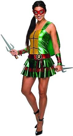 Ninja Turtle Adult Costume Raphael - Red ... - Amazon.com