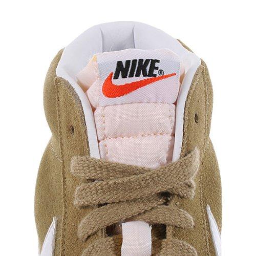 Nike Zapatillas Blazer Mid Prm Suede Marrón Claro / Blanco
