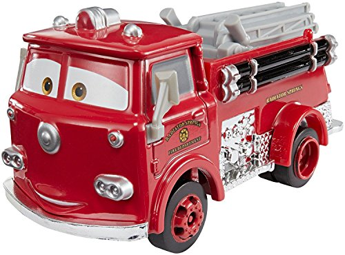 Mattel Cars 3 Deluxe Red Die-Cast Vehicle, 1:55 Scale -