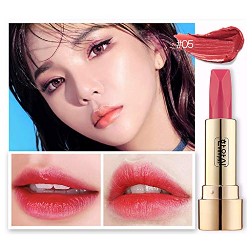 OTTATAT 2019 Popular Promotion Double sided Mirror Matte Sexy Lip Gloss Long Lasting Waterproof Lipstick moisturizing lip pencil crayon velvet waterproof cosmetic hot. mica 0.13-ounce (Nature's Best Promotion Code 2019)