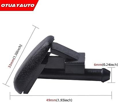 OTUAYAUTO 61601384859 Z3 E36 Bocchetta per tergicristalli per 3 modelli E36