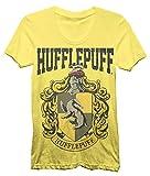 Harry Potter House Crest Hufflepuff Juniors T-shirt