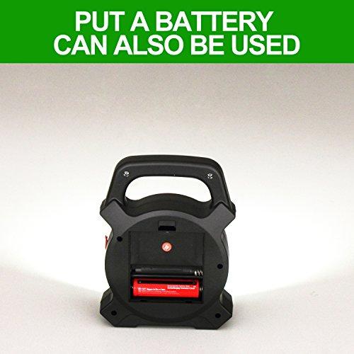 T-Sun COB LED Portable Work Light 5W 1200Lumens with Micro-USB Charging Emergency Work Light Camping Lantern Power Light by T-SUN (Image #4)