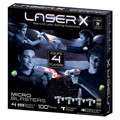 Costco X Micro Blasters 4Pack (Laser Gaming)