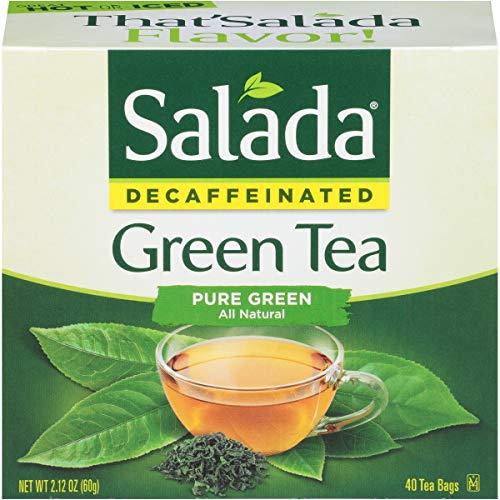 (Salada Pure Green Tea Decaffeinated, 40 Tea Bags, 6Count)