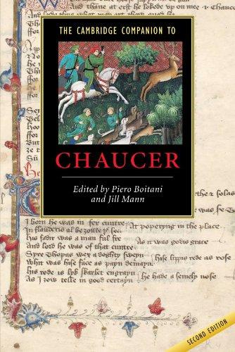The Cambridge Companion to Chaucer (Cambridge Companions to Literature)