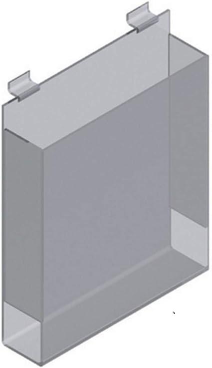 Contenitori Per Cabina Armadio.Porta Depliants Per Pannello Dogato Cubo Contenitore Plexi Cabina