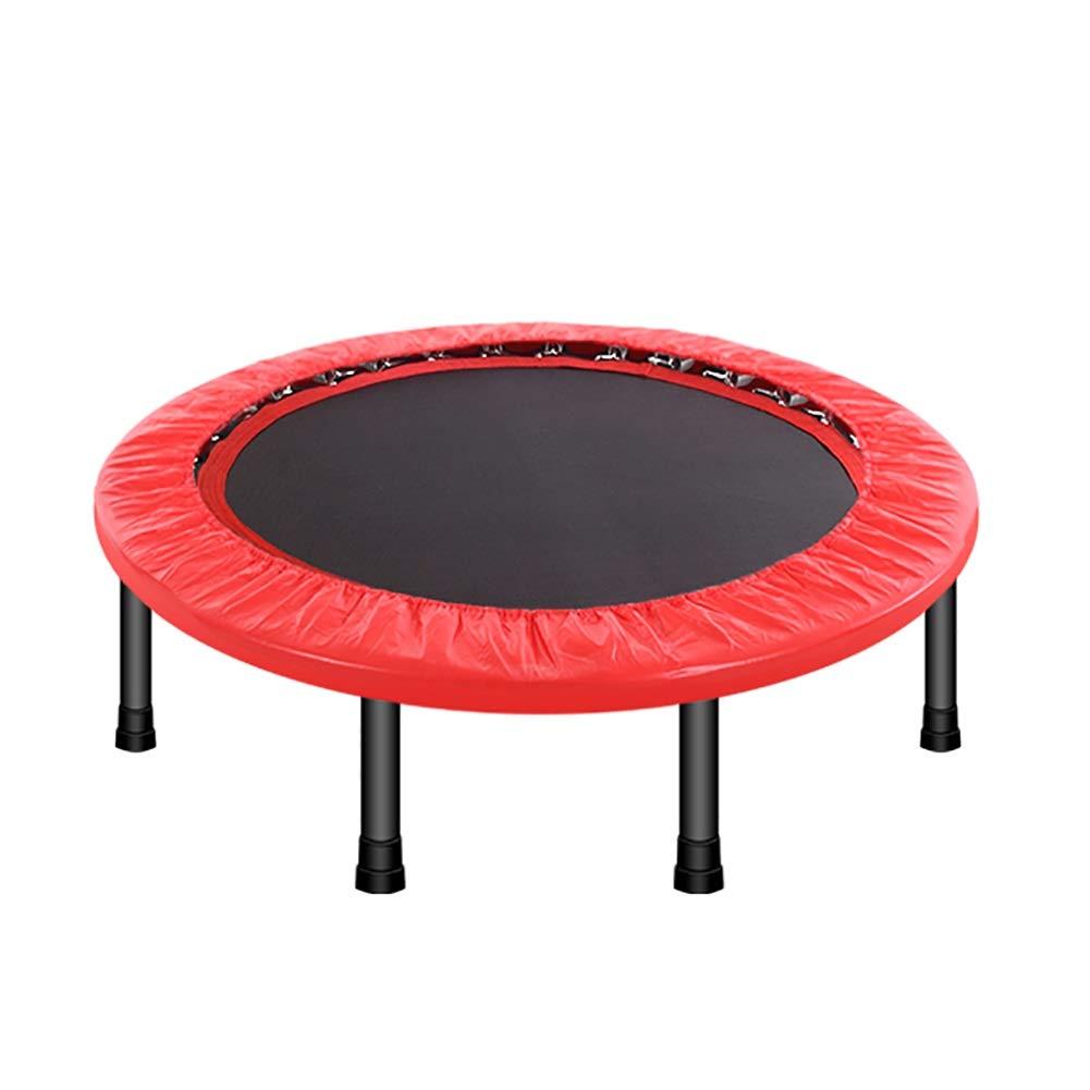 YXX- トランポリン 子供のための小型トランポリン、屋内体操のための折り畳み式の適性、40インチ、負荷150kg (色 : Red)  Red B07PHLCXBV