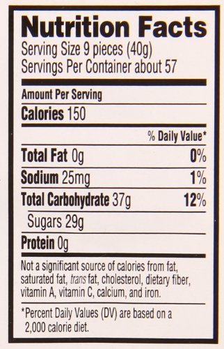 Sour Patch Soft & Chewy Candy, Peach, 80 Ounce (Pack of 6) by Sour Patch (Image #1)