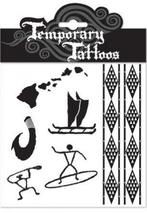 Old Hawai'i Temporary Tattoos