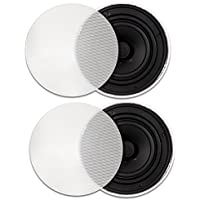Goldwood Sound GH65 In Ceiling 6.5 Speakers Home Theater Quick Install Pair