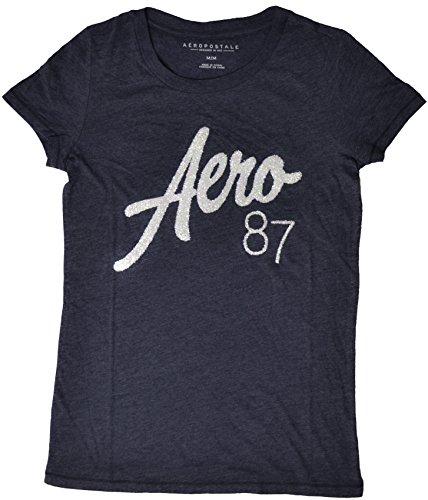Aeropostale Juniors Sparkle Athletic T Shirt