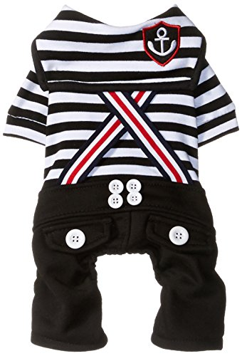 SMALLLEE LUCKY STORE Stripes Jumpsuit Costume Clothes