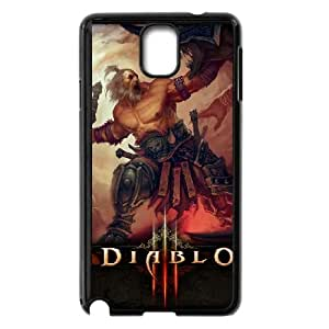diablo 3 barbarianwide Samsung Galaxy Note 3 Cell Phone Case Black yyfD-401242
